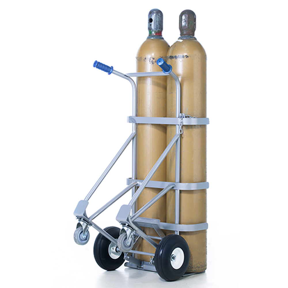 Double Cylinder Double Pin Handtruck