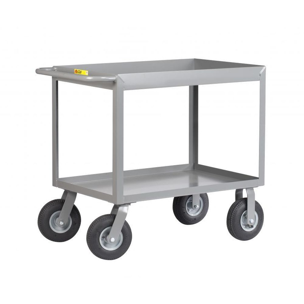 Cushion Load Deep Shelf Truck (Flat Free Wheels)