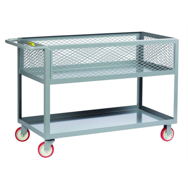 12 In. Deep Shelf Truck w/ Mesh Sides