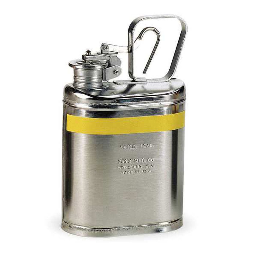 Lab Can 1 Gal. Stainless Steel - 1301