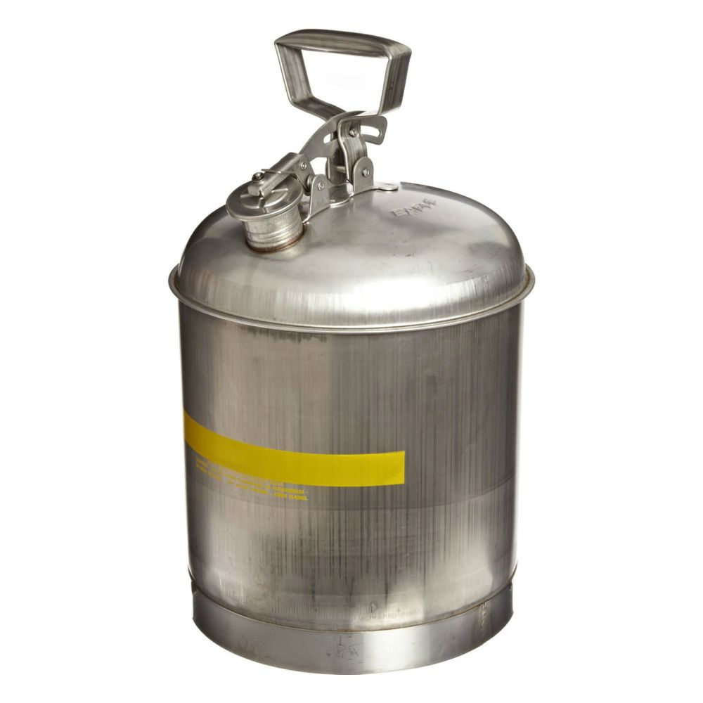 Type I Safety Can 5 Gal. Stainless Steel