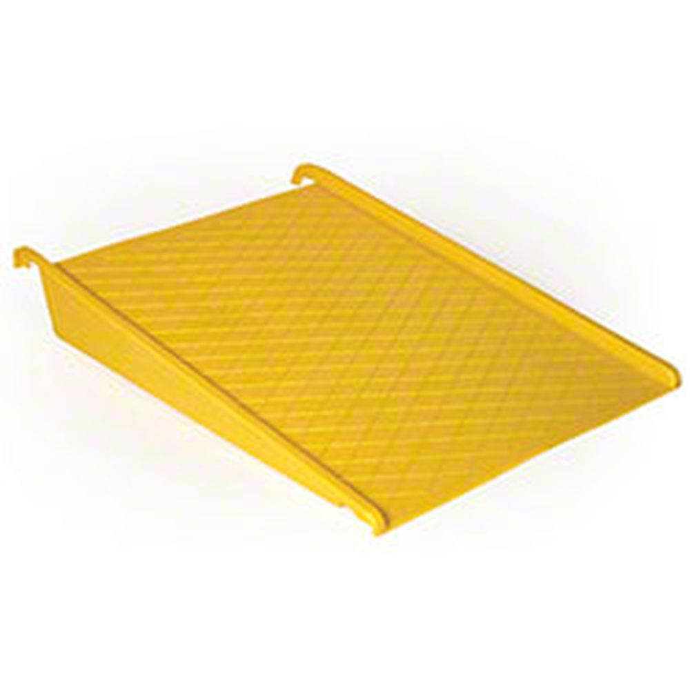 Poly Pallet Ramp for Modular Platforms Yellow - 1689