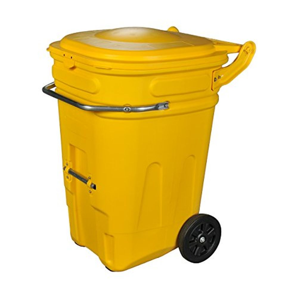 e-CART Wheeled Spill Kit Cart 65 Gallon Yellow
