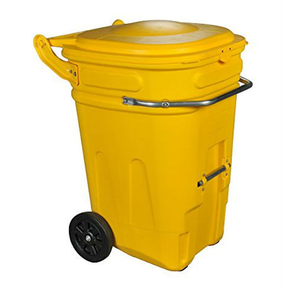 e-CART Wheeled Spill Kit Cart 95 Gallon Yellow