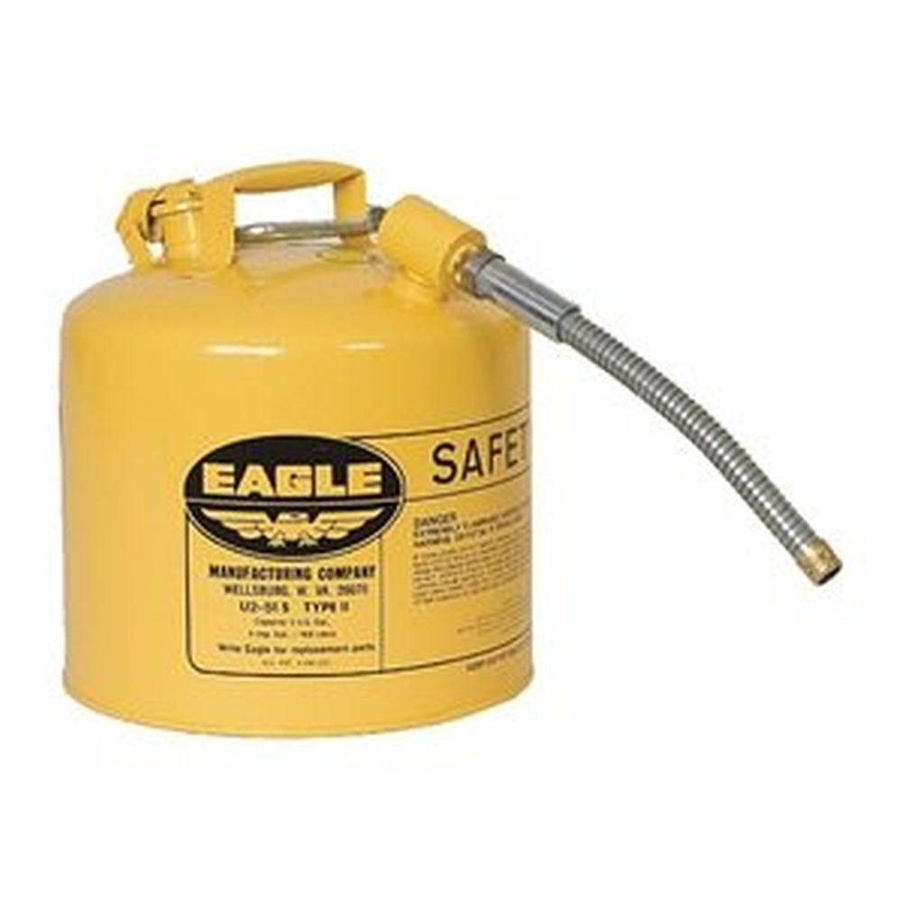 Type II Safety Can 5 Gal. Yellow with 7/8