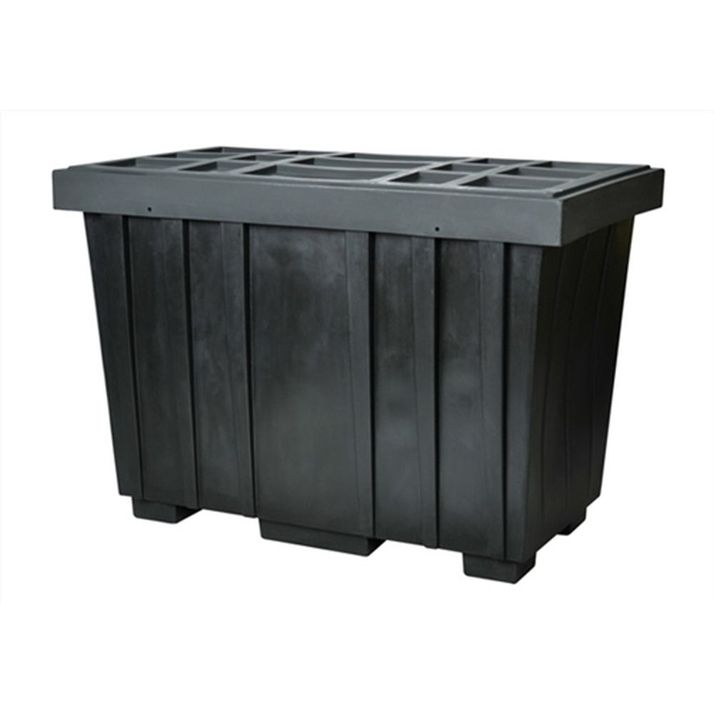 Spill Kit Box w/ Lid Black 220 Gallon