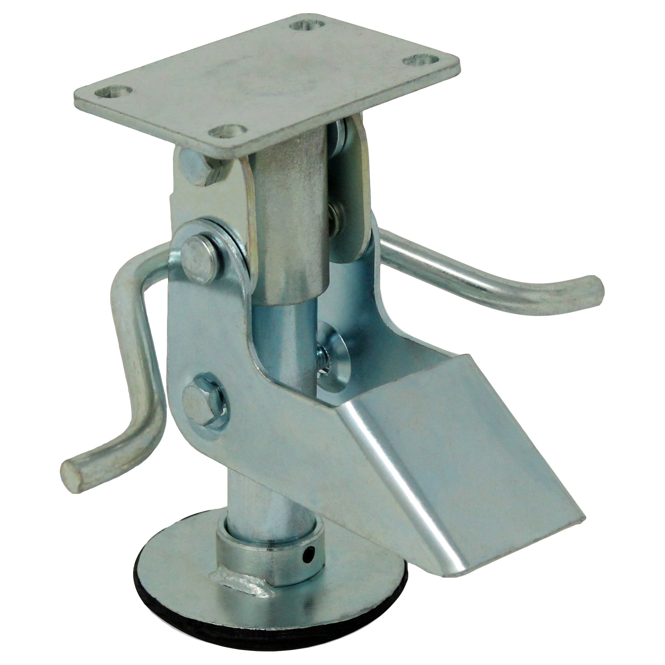 Kick Bar Floor Lock Small Plate