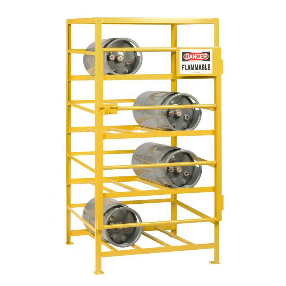 Industrial Gas Cylinder Cage