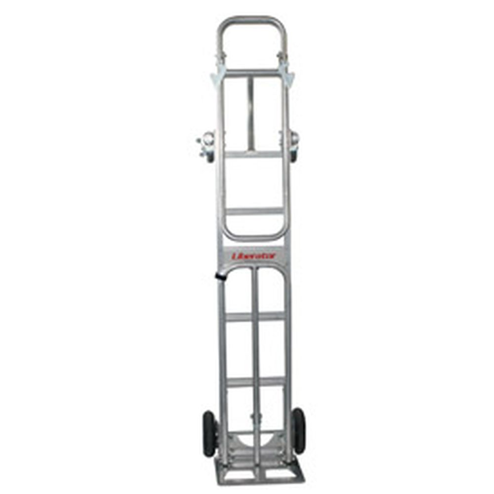 B&P 4-Wheel Folding Snack Route Truck 600 Lb. Capacity