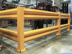 Heavy Duty Warehouse Double Rail Add-On Unit