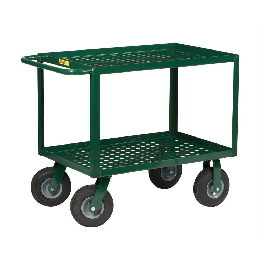 Service Cart w/ Perforated Deck