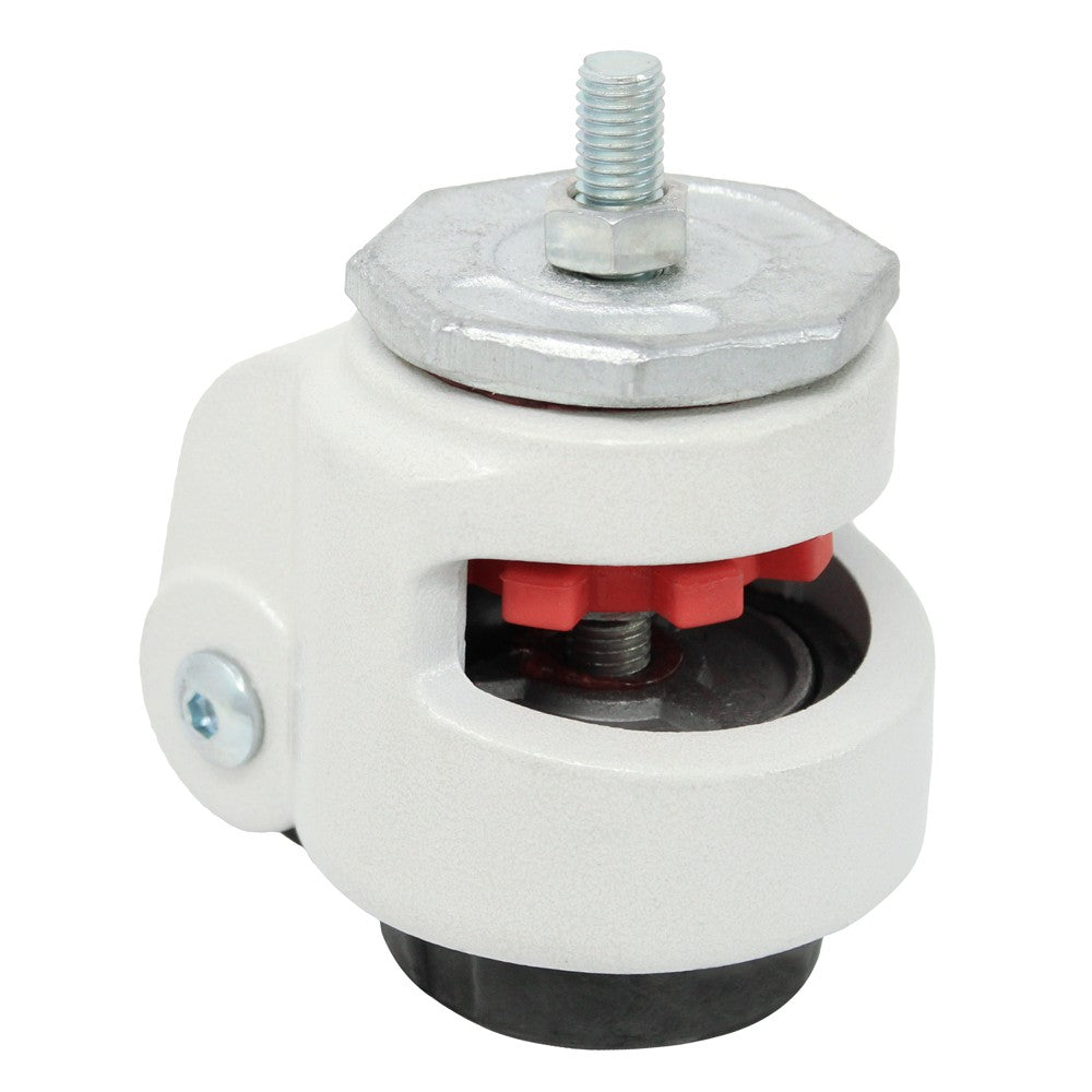 Leveling Caster Threaded Hollow Kingpin - 2200 lbs. Capacity
