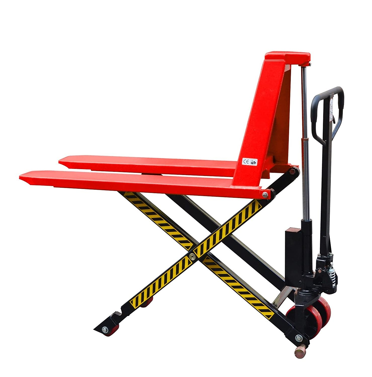 High Lift Scissor Truck, Manual