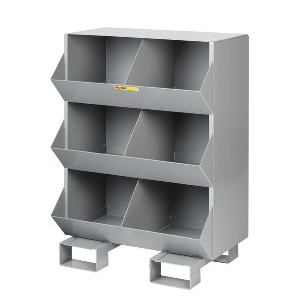 Stationary Storage Bins 6 Openings