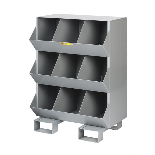 Stationary Storage Bins 9 Openings