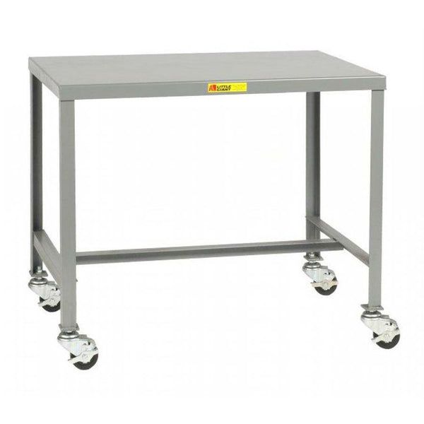 "Mobile Steel Top Machine Table (24"" Tall)"