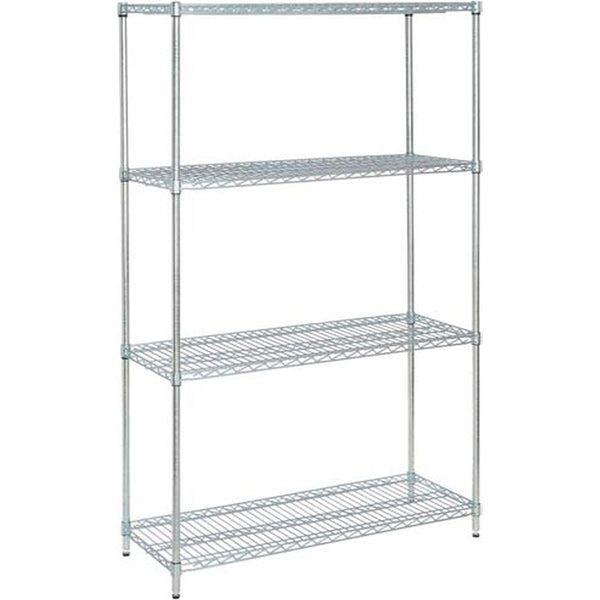 "Wire Shelving Value Kit - 24"" x 36"" x 74"""