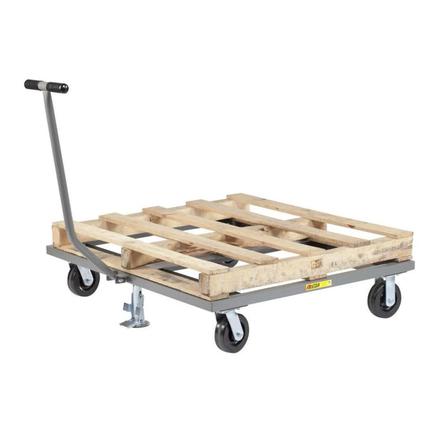 Pallet Dolly w/ T-Handle and Floor Locks