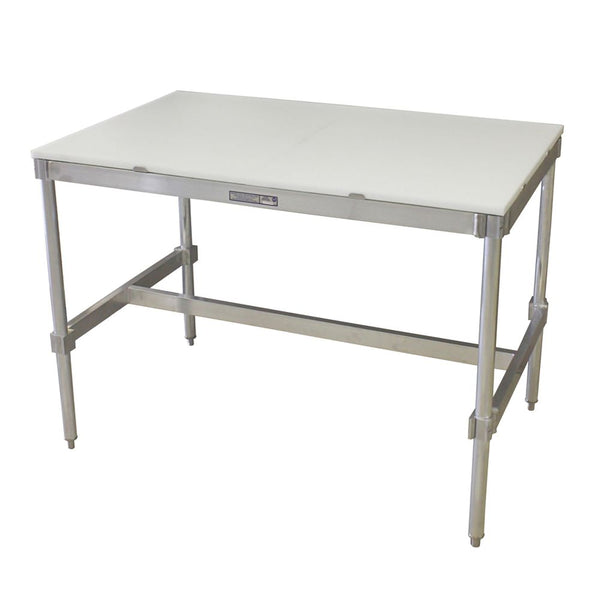 "Poly Top I-Frame Table (30""D)"