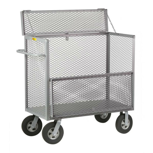 Security Box Trucks (Solid Rubber Wheels)