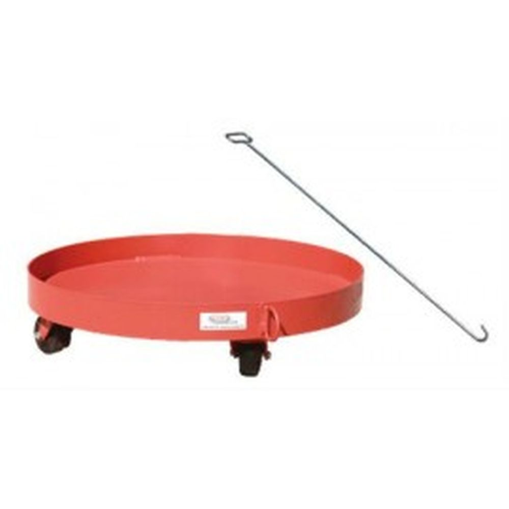 Solid Deck Drum Dolly w- Handle