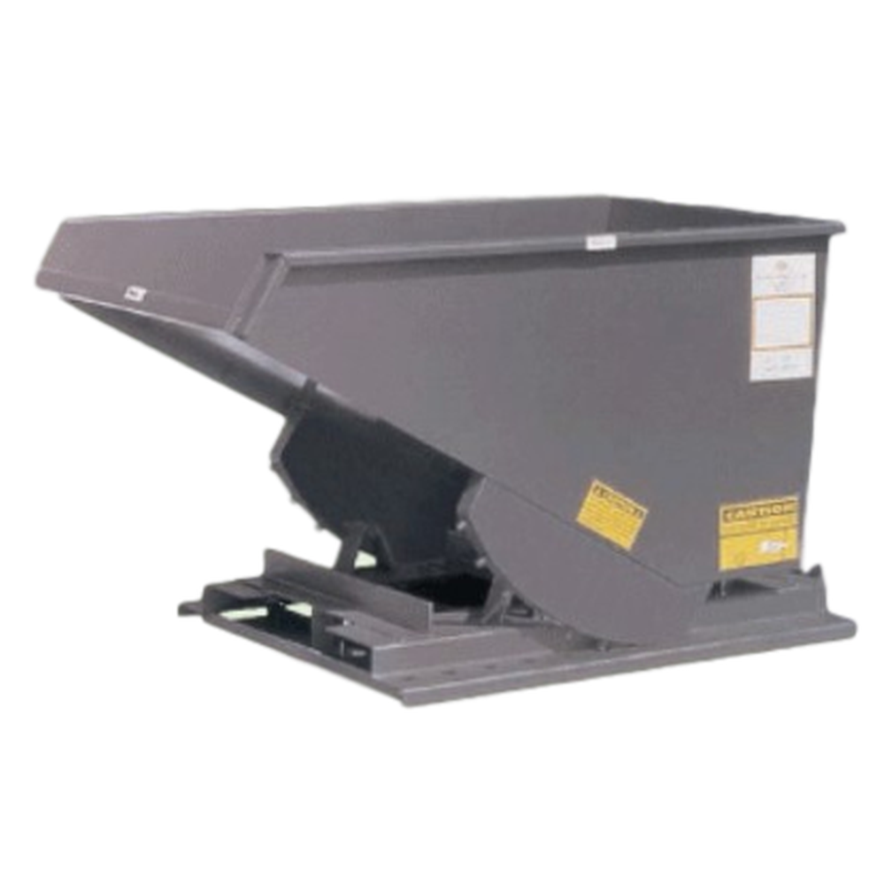 Low Profile Self Dumping Hopper Extra Heavy Duty (3-1/2 Cubic Yards)