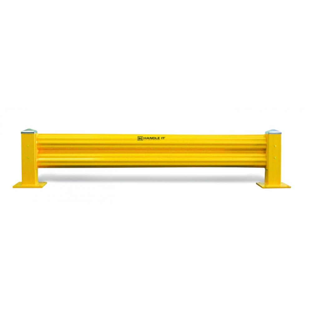 Heavy Duty Warehouse Guard Rail Starter Unit