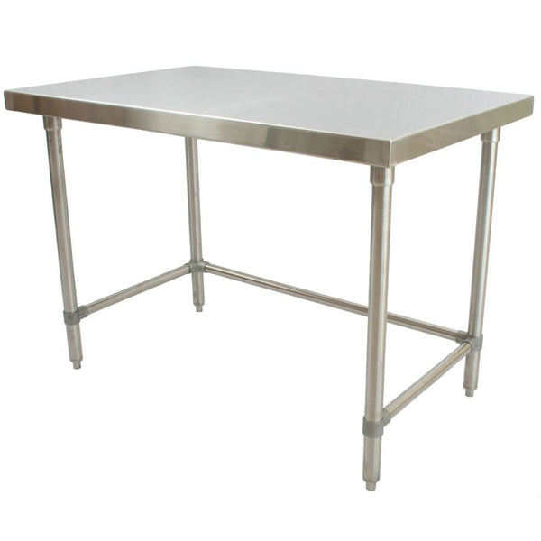 "Stainless Steel Table (24""D)"