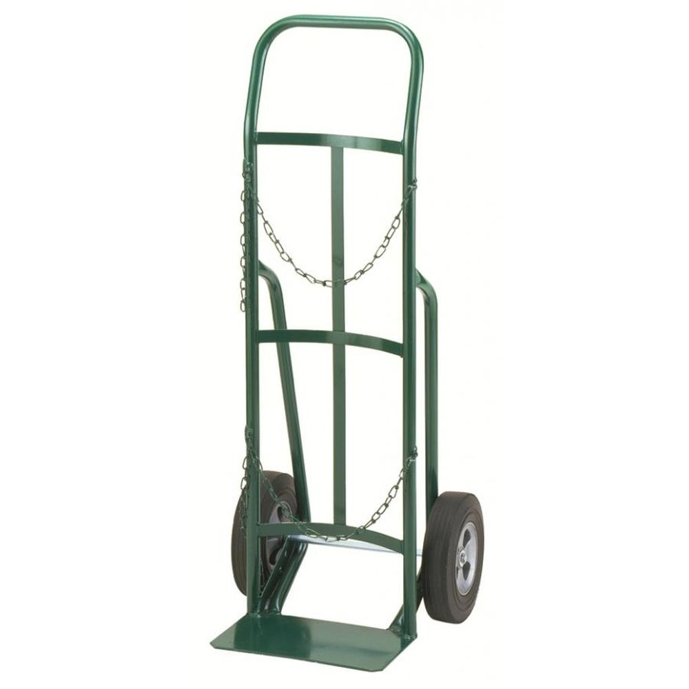 Single Cylinder Hand Truck Continuous Loop (Semi-Pneumatic Wheels)
