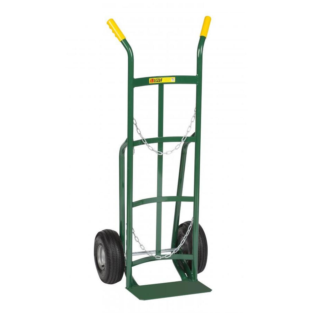 Single Cylinder Hand Truck Double Pin (Pneumatic Wheels) - TW-42-10P