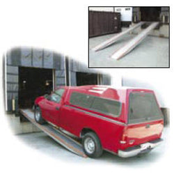 Aluminum Vehicle Twin Ramps - 10 ft