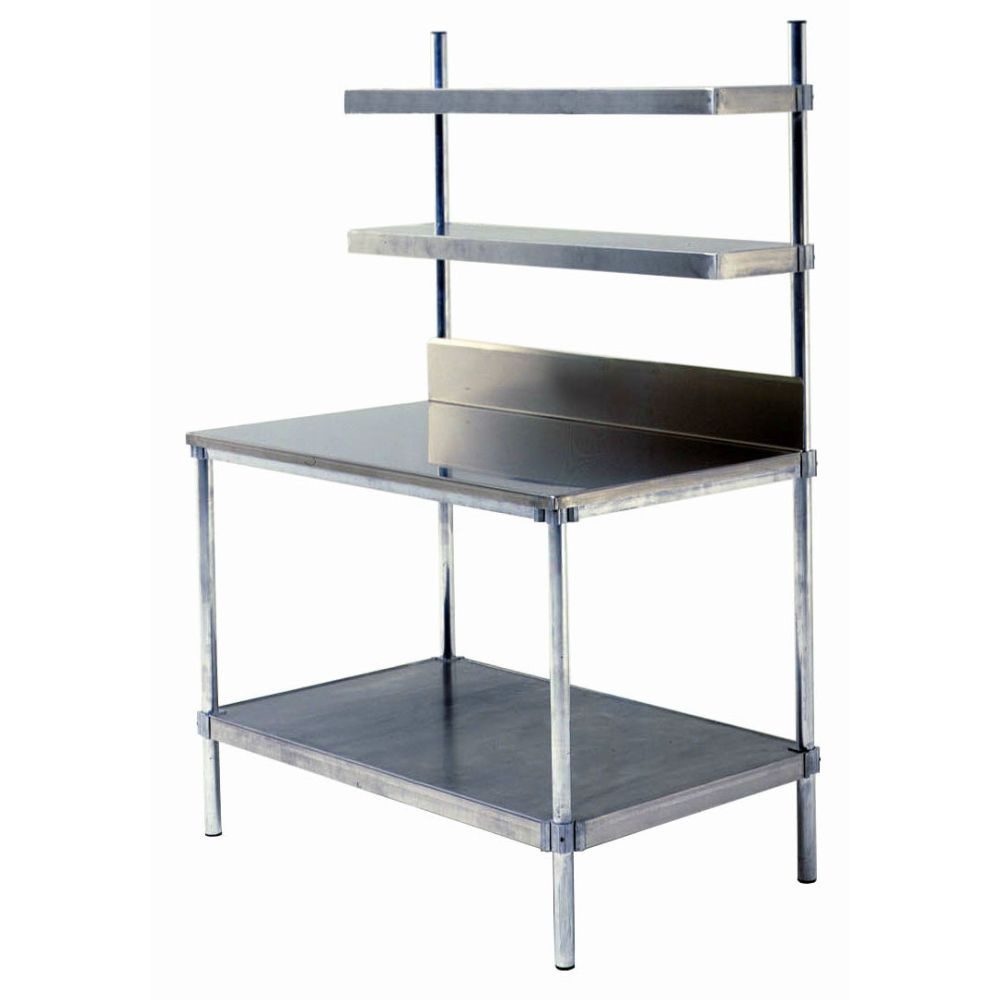 Stainless Steel Top Workstation (30