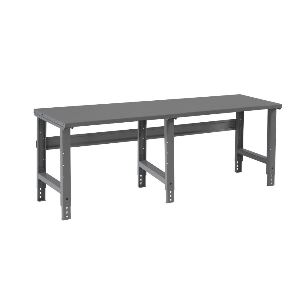 Steel Top Workbench W/ Adjustable Legs