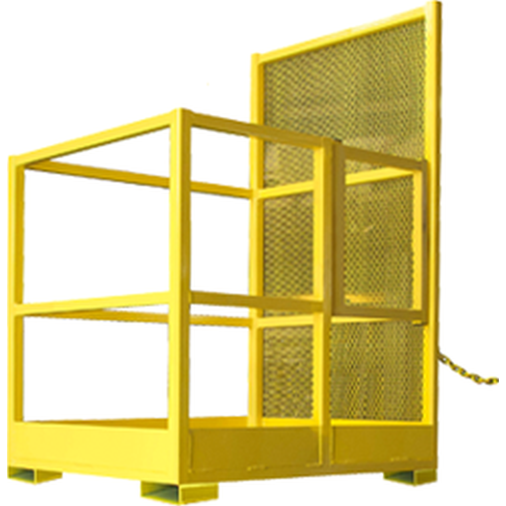 Bluff® Forklift Safety Cage - 1000lb. Capacity