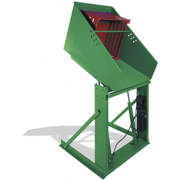 "Valley Craft Box Dumper 48"" Height 2000 lb Capacity"