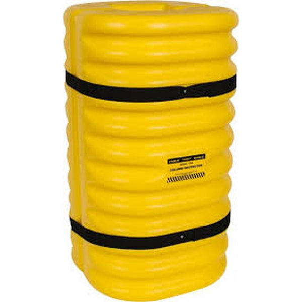 "Column Protectors for Weight Bearing Columns 42""H (Yellow)"