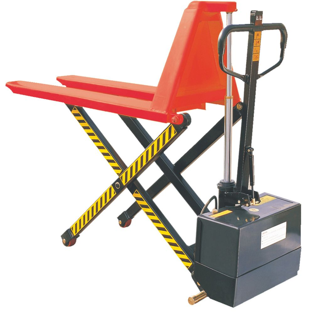 Semi-Electric High Lift Pallet Jack