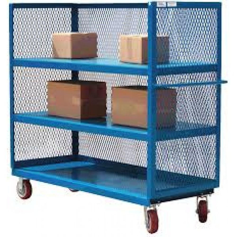3-Sided Service Cart (3 Shelves)