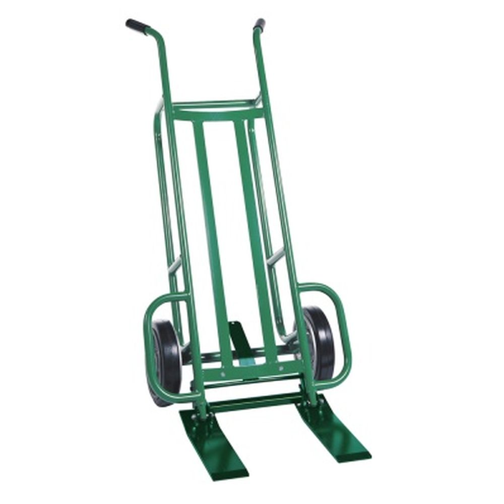 EZY-Tilt Std. 2-Whl Plt Truck Steel Frame (Mold-On Rubber Wheels)