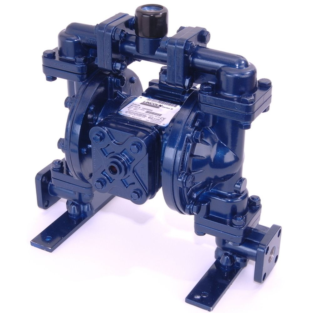 Dual Inlet Air Operated Double Diaphragm Pump (1/2 in. Polyethylene)