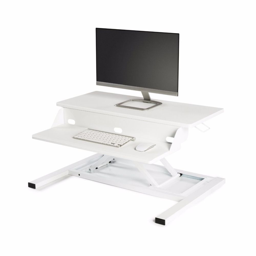 Standing Desk Converter Level Up Pro 32 White (Pneumatic)