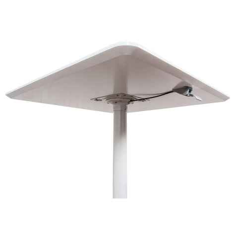 Pneumatic Height Adjustable Cafe Table (Square)