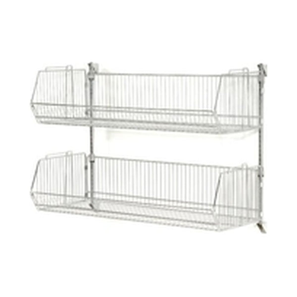 Wall Mount Basket Shelving
