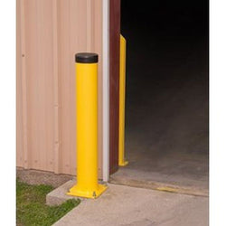 Bluff® Yellow Steel Bollard Post