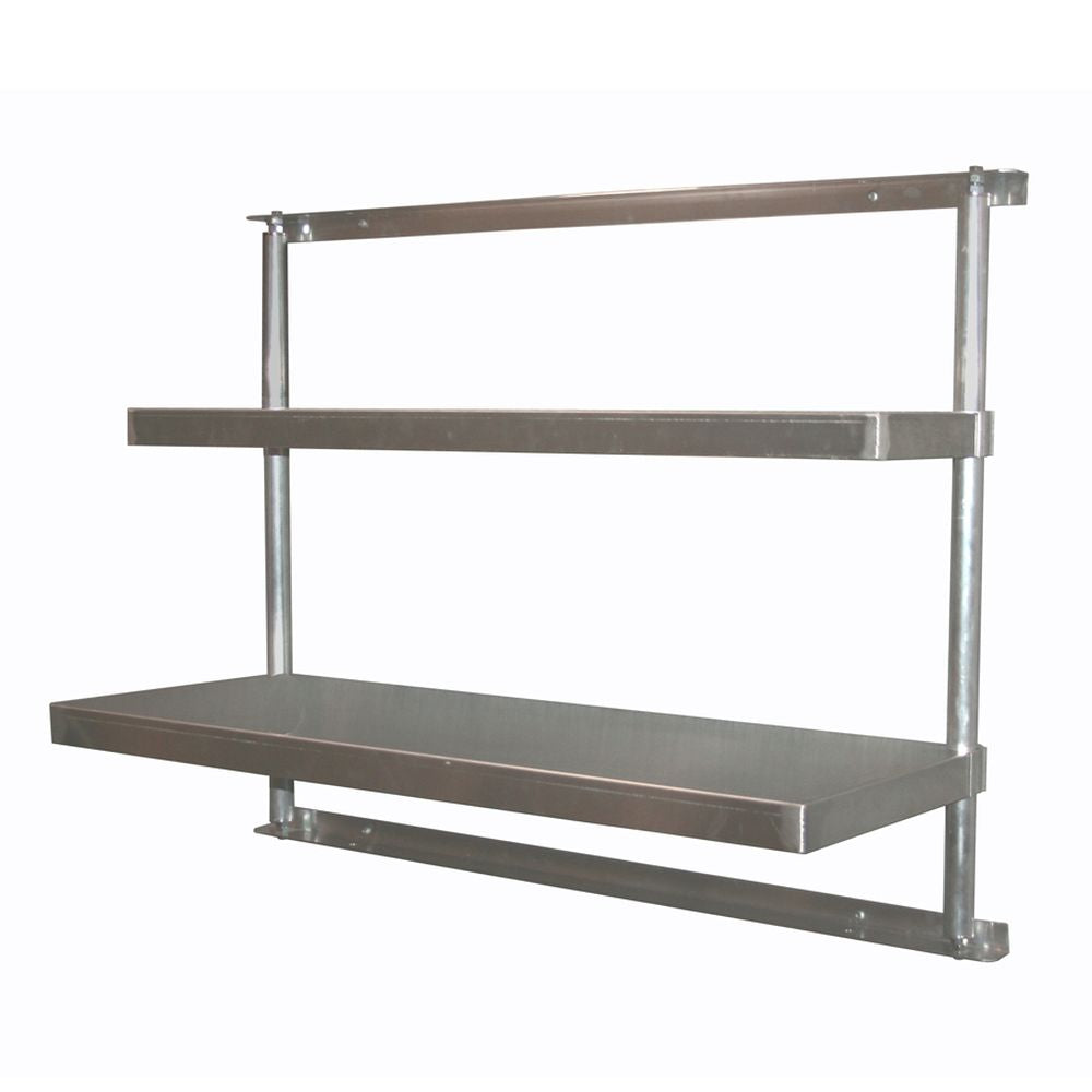 Aluminum Wall Mount Cantilever Shelving (48