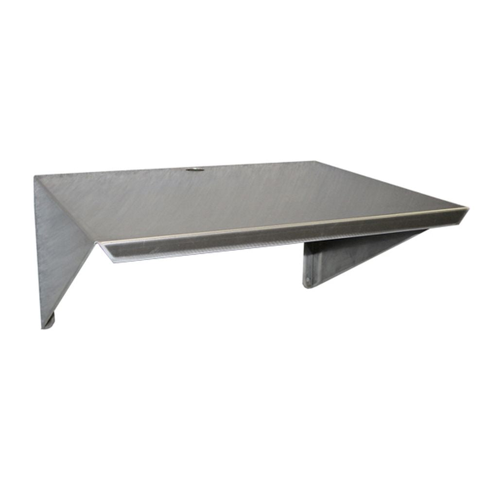 Aluminum Microwave Wall Mount Shelf 18