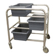 "Lug Cart 6 Tub Capacity 36""H (All Welded)"