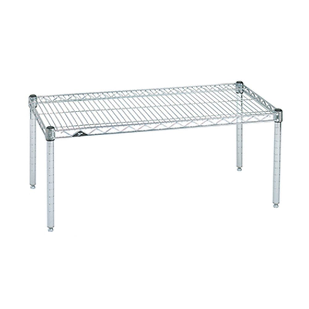 Standard Duty Platform Dunnage Rack (Chrome)