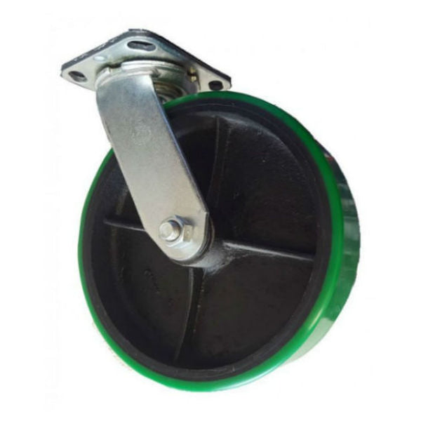 "8"" Polyon Cast Wheel Swivel Caster - 1250 lbs. Capacity"