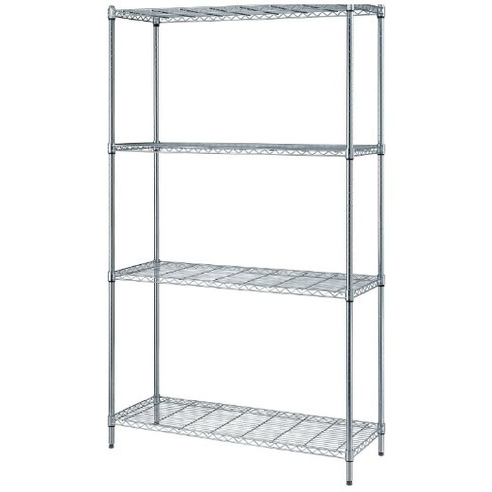 Convenient 1 Box Wire Shelving Unit 18
